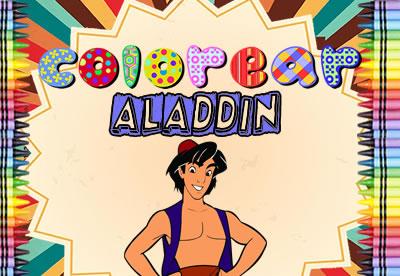 Colorear Aladin