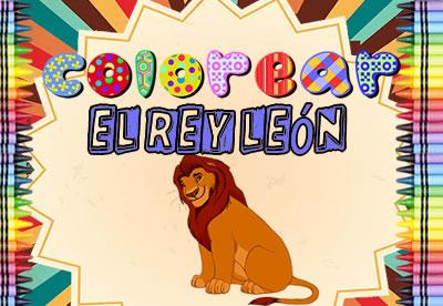 Colorear El Rey León