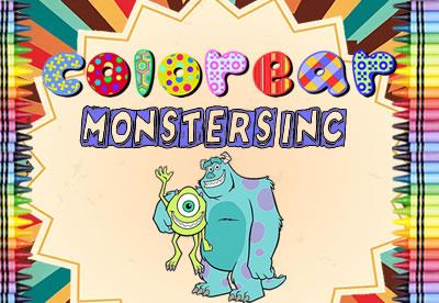 Colorear Monster Inc