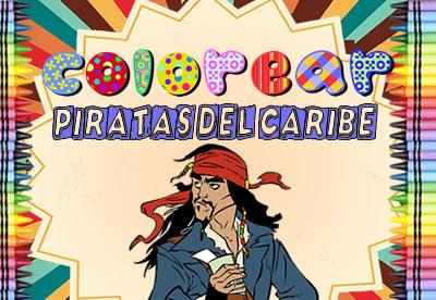 Colorear Piratas Del Caribe