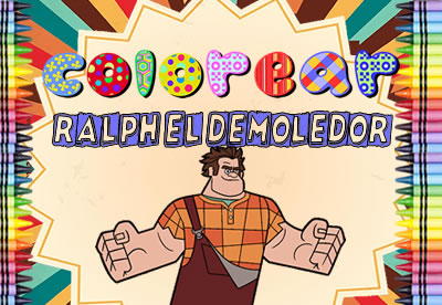 Colorear Ralph El Demoledor