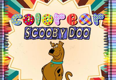 Colorear Scooby Doo