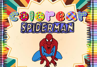 Colorear Spiderman