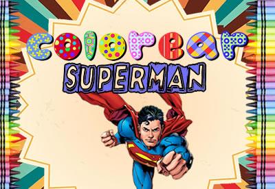 Colorear Superman