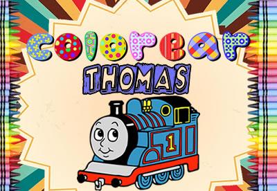 Colorear Thomas