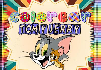 Colorear Tom y Jerry