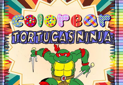 Colorear Tortugas Ninja