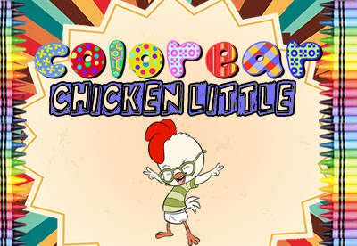 Colorear Chicken Little