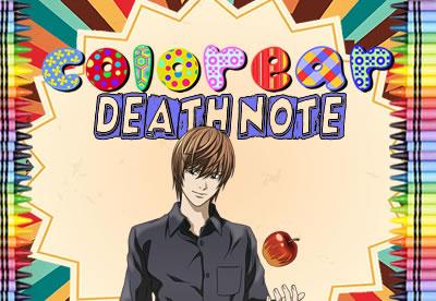 Colorear Death Note