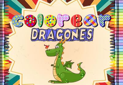 Colorear Dragones