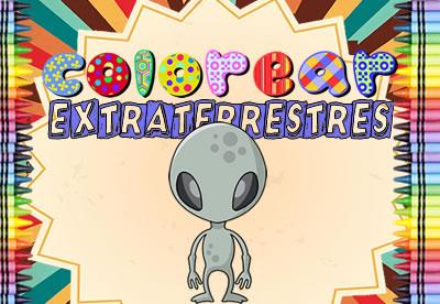 Diviértete pintando los mejores dibujos online de Extraterrestres
