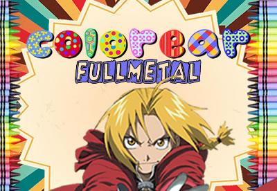 Diviértete pintando los mejores dibujos online de Fullmetal
