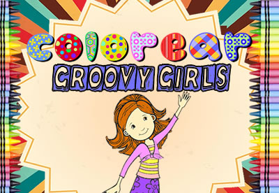 Colorear Groovy Girls