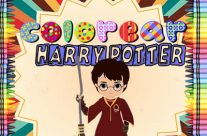 Colorear Harry Potter