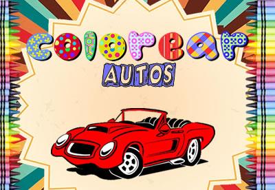 Colorear Autos