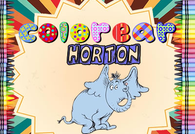 Colorear Horton