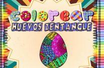 Colorear Huevos Zentangle