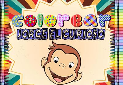 Colorear Jorge el Curioso