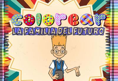 Colorear La familia del futuro
