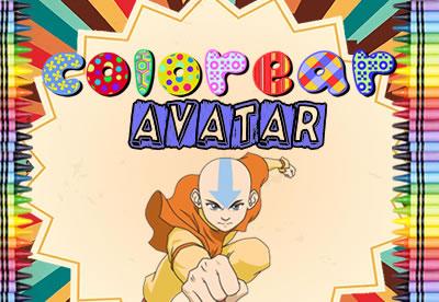 Diviértete pintando los mejores dibujos online de Avatar