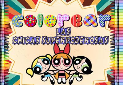 Colorear Las Chicas Superpoderosas