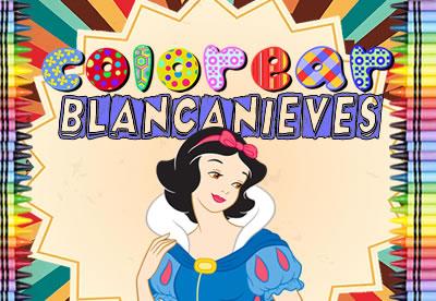 Colorear Blancanieves