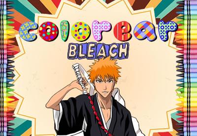 Diviértete pintando los mejores dibujos online de Bleach