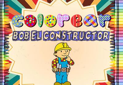 Colorear Bob el Constructor